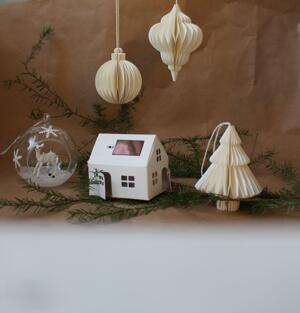 Honeycomb juldekoration, ornament