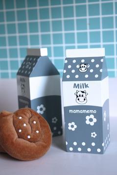 Mjölk i trä, grå