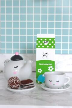 Mjölk i trä, grön