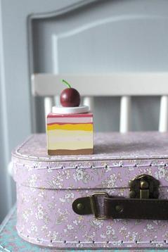 Rosa mellanstor väska
