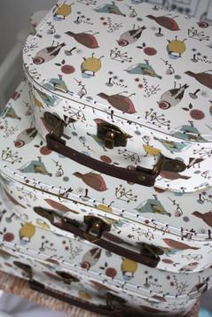 Väska med fåglar, medium