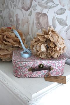 Väska med blommor, stor