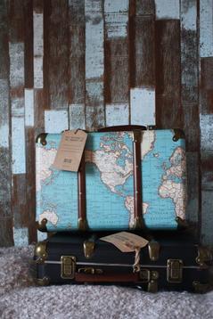 Resväska/koffert, karta