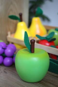 Äpple i trä, stort
