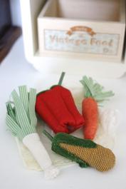 Grönsaker i tyg